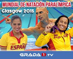 Mundial natación paralímpica Grada1