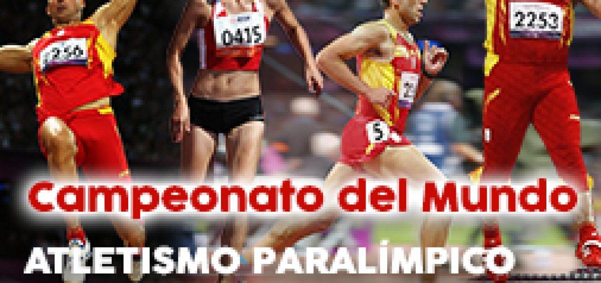 El Mundial de Atletismo Paralímpico, en directo en Grada 1 TV