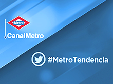 La actualidad de Twitter llega a Metro de Madrid
