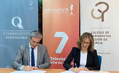 Grupo Secuoya obtiene el Sello de Comunicación Responsable del Colegio de Periodistas